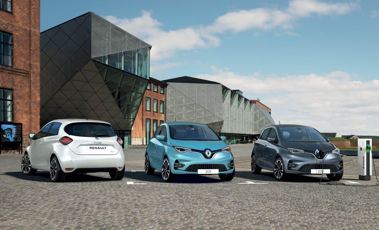Imagen de prensa de Renault Zoe