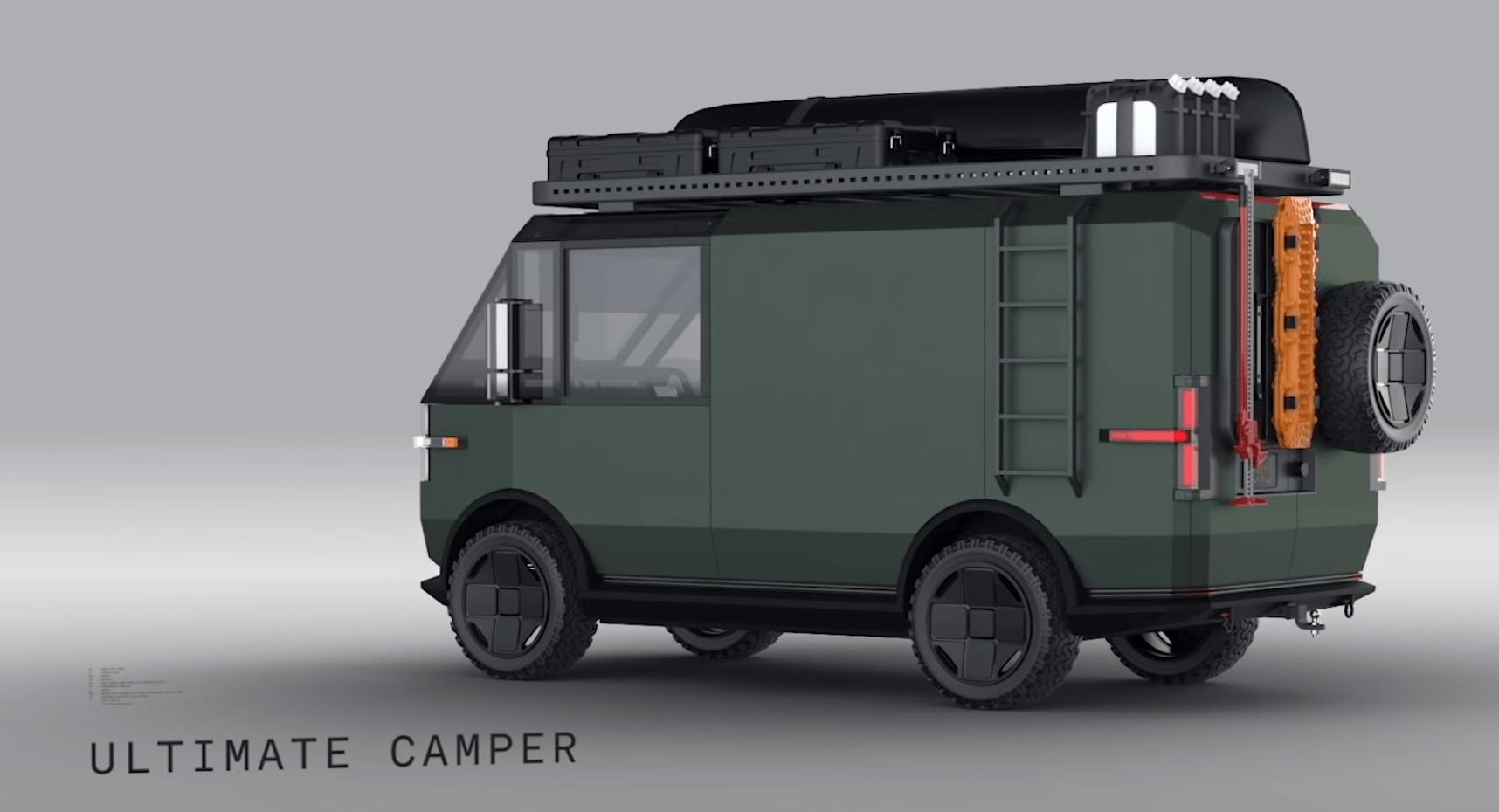 El concepto Ultimate Camper de Canoo