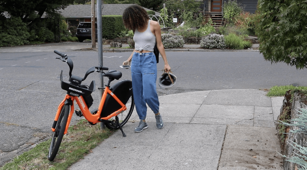 Bicicleta compartida de Portland Biketown