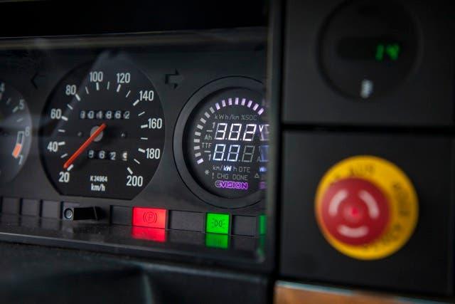 Conversión Volvo EV