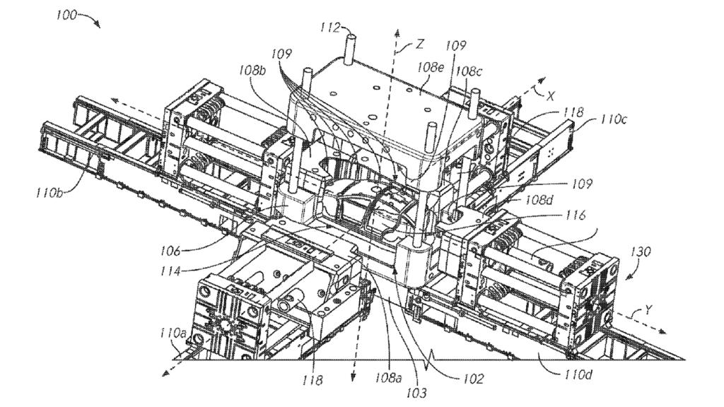 Patente de la máquina Tesla Giant Gigacast