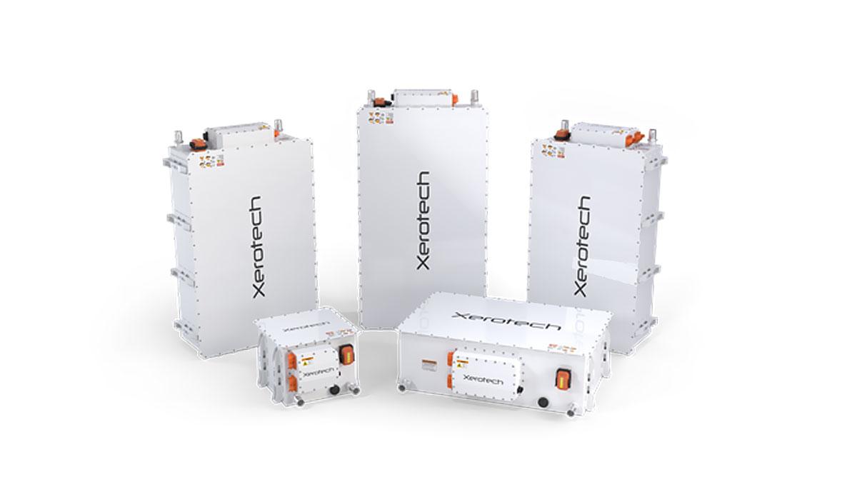 Paquetes de baterías Xerotech Hibernium
