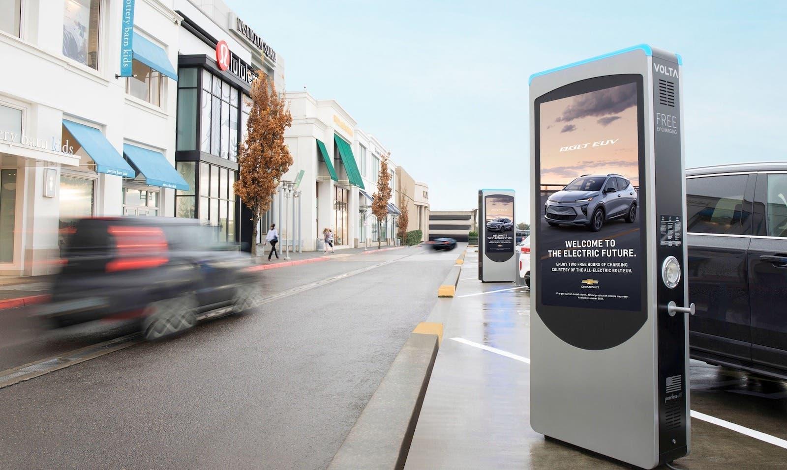 carga de vehículos eléctricos GM Chevy Bolt EUV