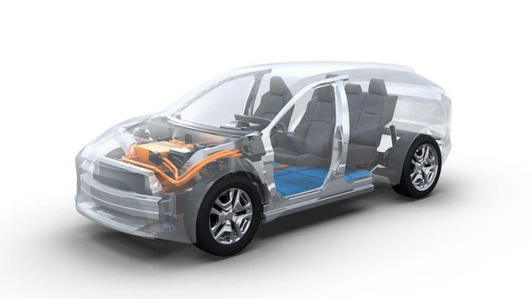SUV eléctrico Toyota