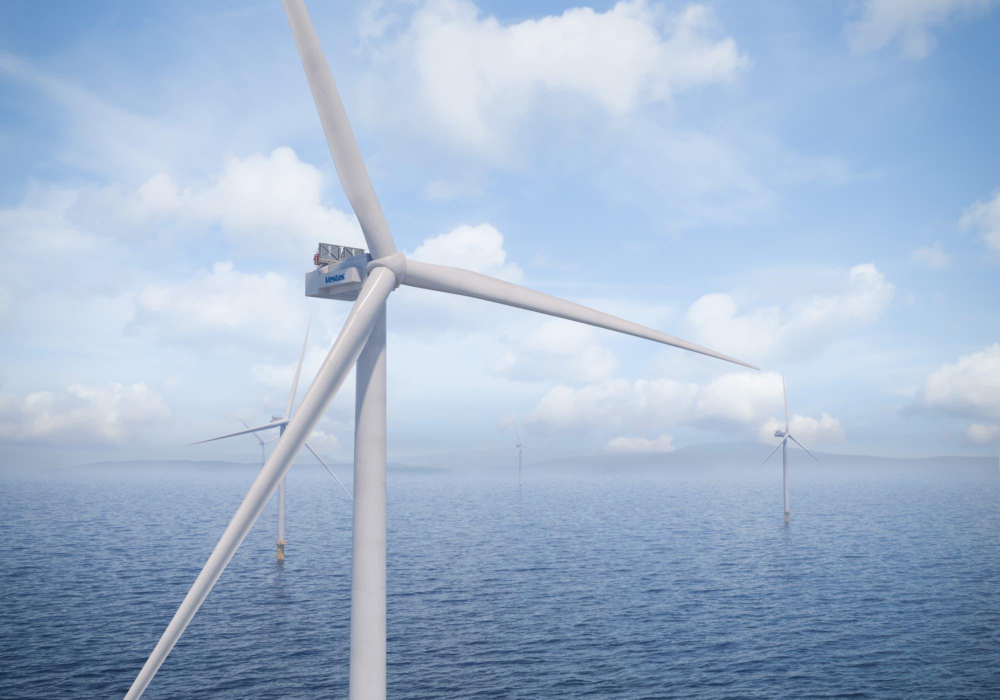 Aerogenerador Vestas V236-15 MW