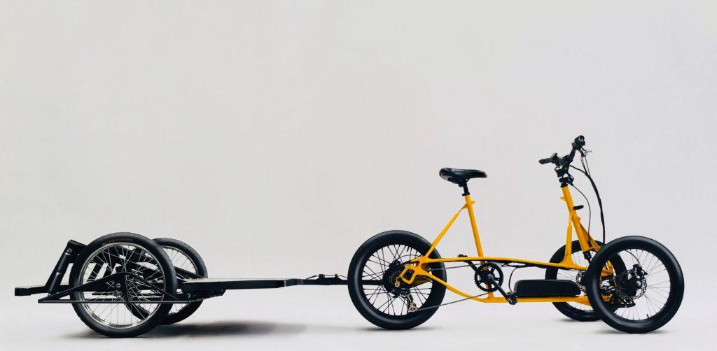 Bicicleta eléctrica de carga Mastretta