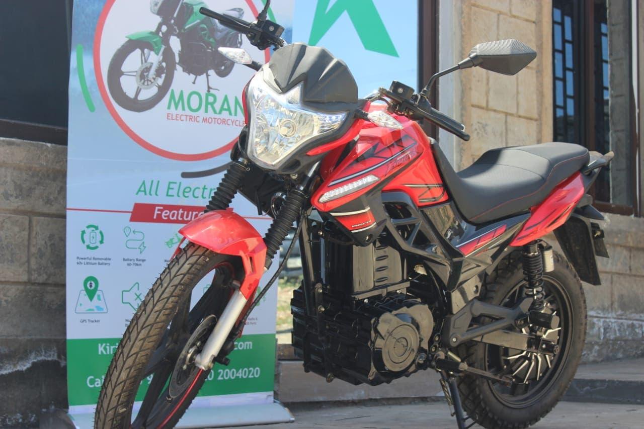 motocicleta eléctrica Kenya EV Kiri