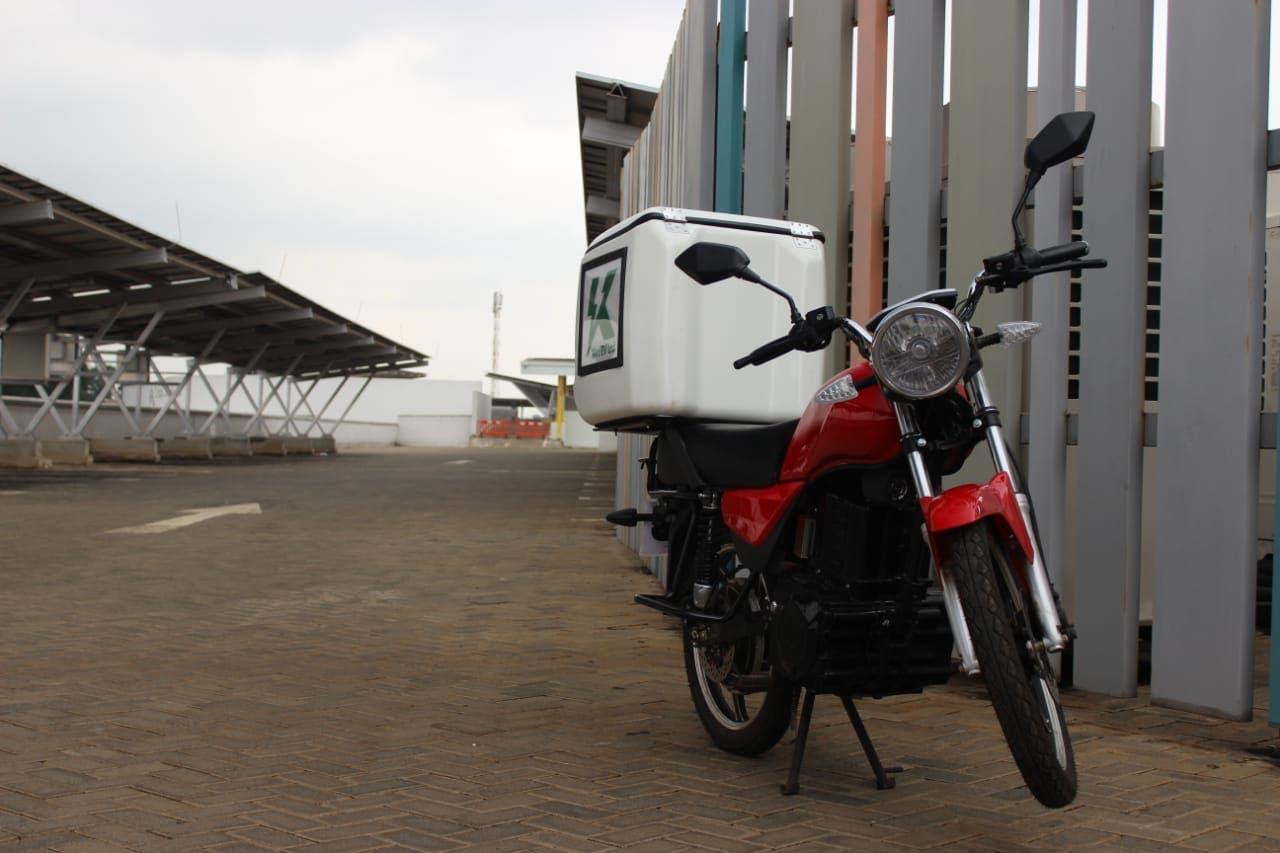 Motocicleta de carga eléctrica Kiri EV Kenya