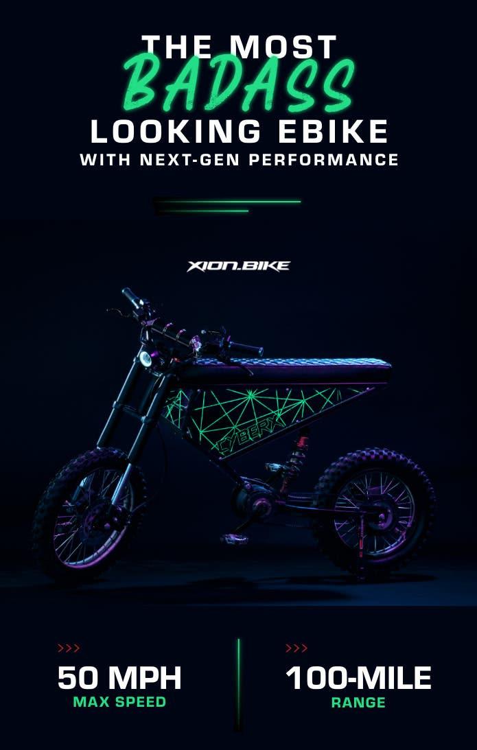 Bicicleta eléctrica XION CyberX